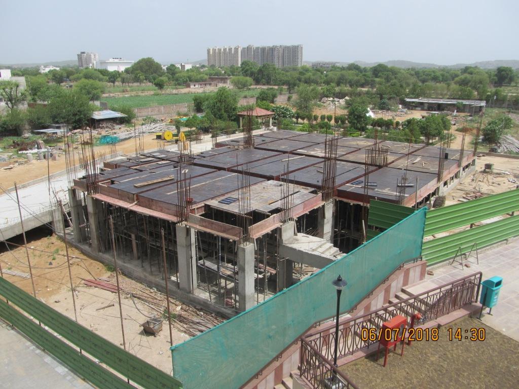 Club development work in progress