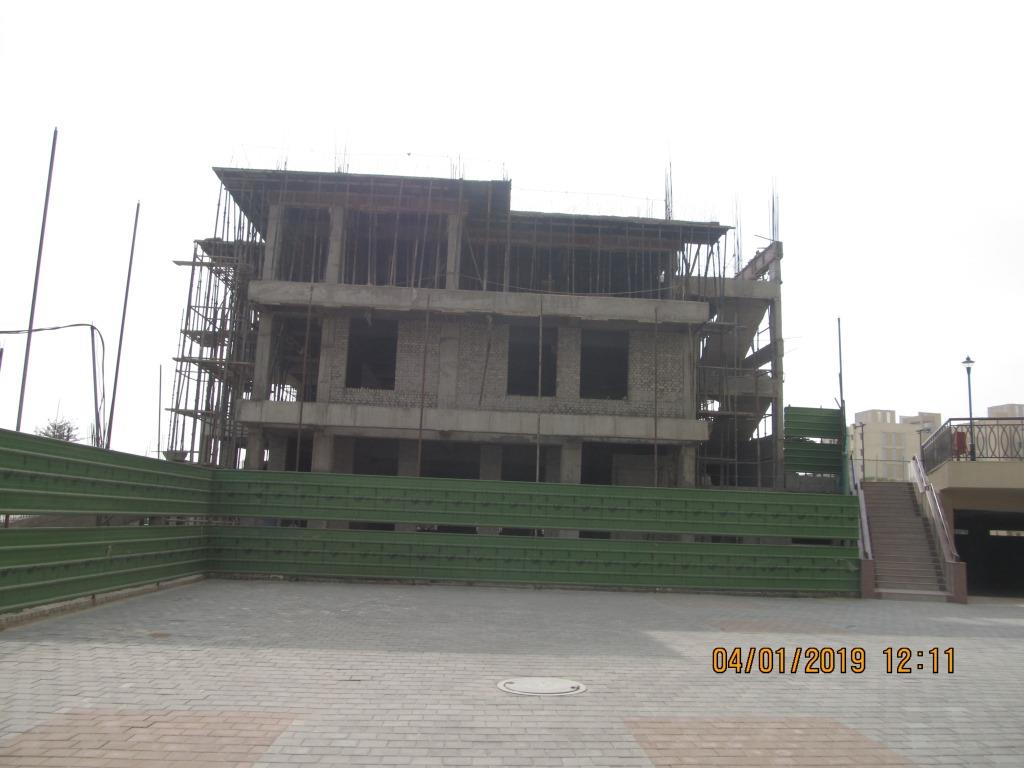 Club Development Last Slab Completed