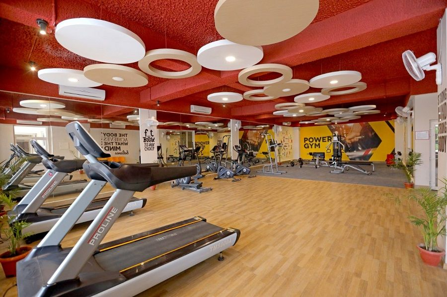 Phase I - Actual View of Gym