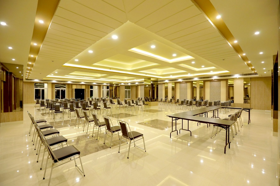 Phase I - Air Conditioned Community Hall Actual View